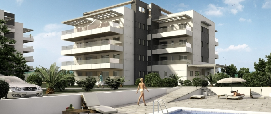 New apartments for sale by Urmosa